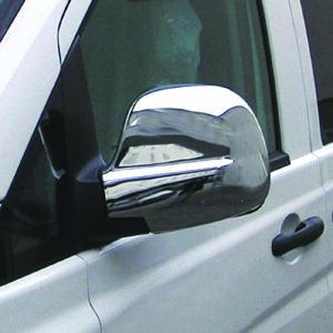 Καπάκια καθρεπτών χρωμίου για Mercedes Benz Vito/Viano W639 2003–05/2009