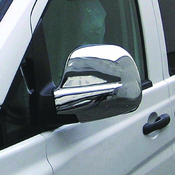 Καπάκια καθρεπτών χρωμίου για Mercedes Benz Vito/Viano W639 2003-05/2009