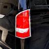 Χρώμια πίσω φαναριών για Mercedes Benz Vito/V Class W447 από 10/2014