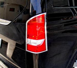 Χρώμια πίσω φαναριών για Mercedes Benz Vito/V-Class W447 από 10/2014