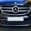 Chrome bumpers trim Mercedes Vito W447 from 10.2014