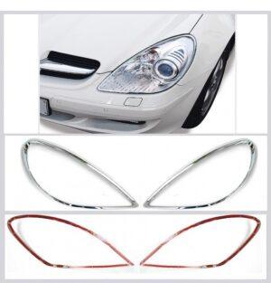 Χρώμια προβολέων για Mercedes Benz SLK R171 από 03/2004 έως 03/2011