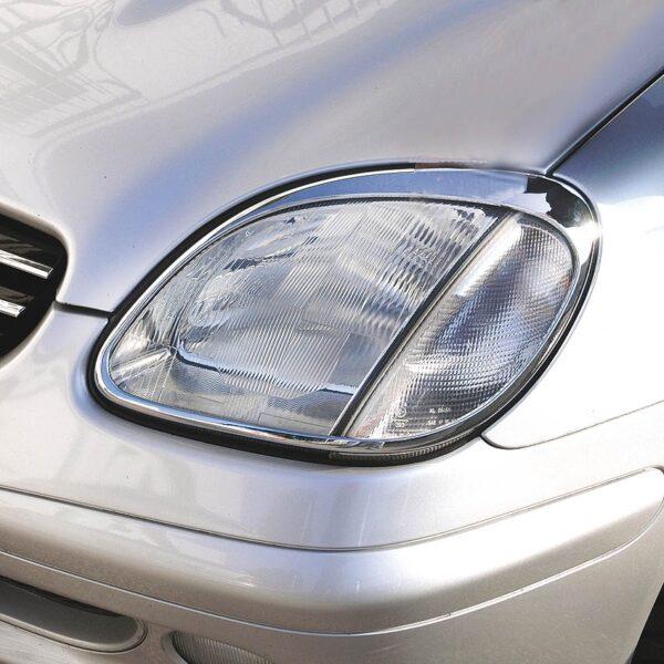 Χρώμια προβολέων για Mercedes Benz SLK R170 από 1996 έως 2004