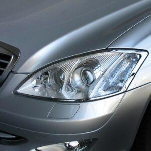 Χρώμια προβολέων για Mercedes Benz S-Class W221