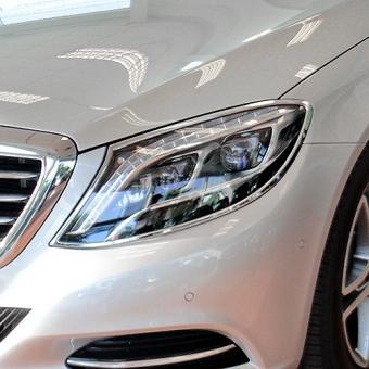 Χρώμια προβολέων για Mercedes Benz S-Class W222 από 06/2013