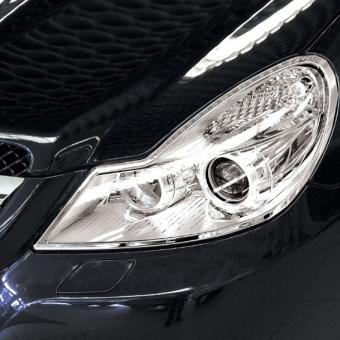 Χρώμια προβολέων για Mercedes Benz SL R230 από 03/2008 έως 10/2013