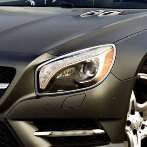 Χρώμια προβολέων για Mercedes Benz SL R231