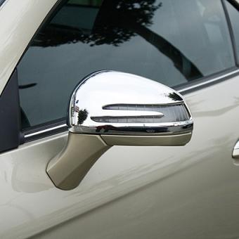 Chrome mirror covers fits for Mercedes Benz SLK R172, SLC R172, SL R231
