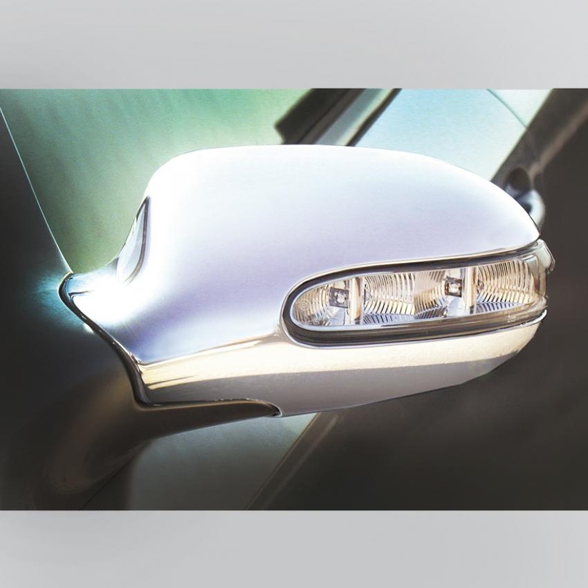 Καπάκια καθρεπτών χρωμίου για Mercedes Benz A-Class W168, CLK W208, SL R129, SLK R170