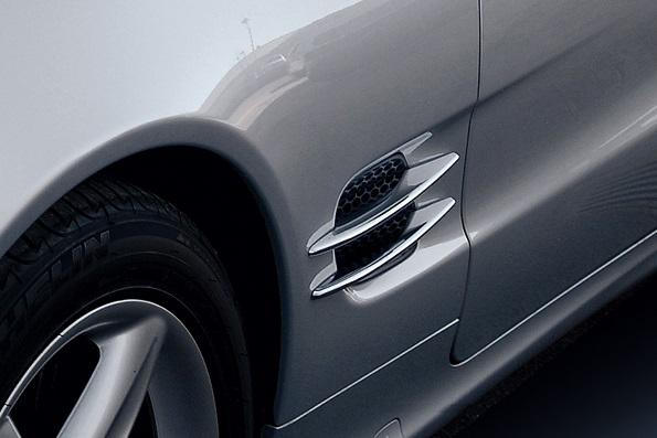 Γρίλιες φτερών για Mercedes Benz SL R230