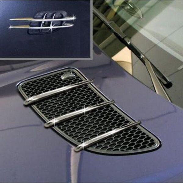 Σετ γρίλιες χρωμίου αεραγωγών καπό & γρίλιες φτερών για Mercedes Benz SLK-Class R171