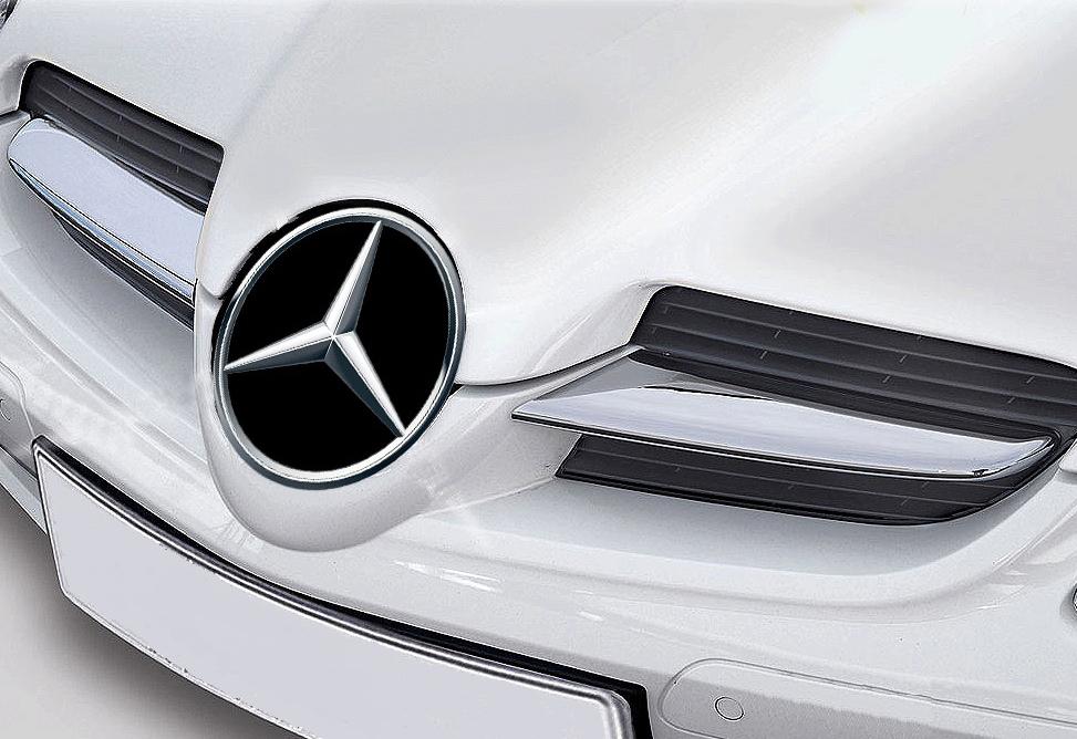 Γρίλιες μάσκας για Mercedes Benz SLK R171 μέχρι 03/2008