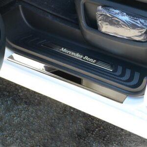 Εσωτερικά μαρσπιέ από ανοξείδωτο ατσάλι για Mercedes Benz Vito/V-Class W447