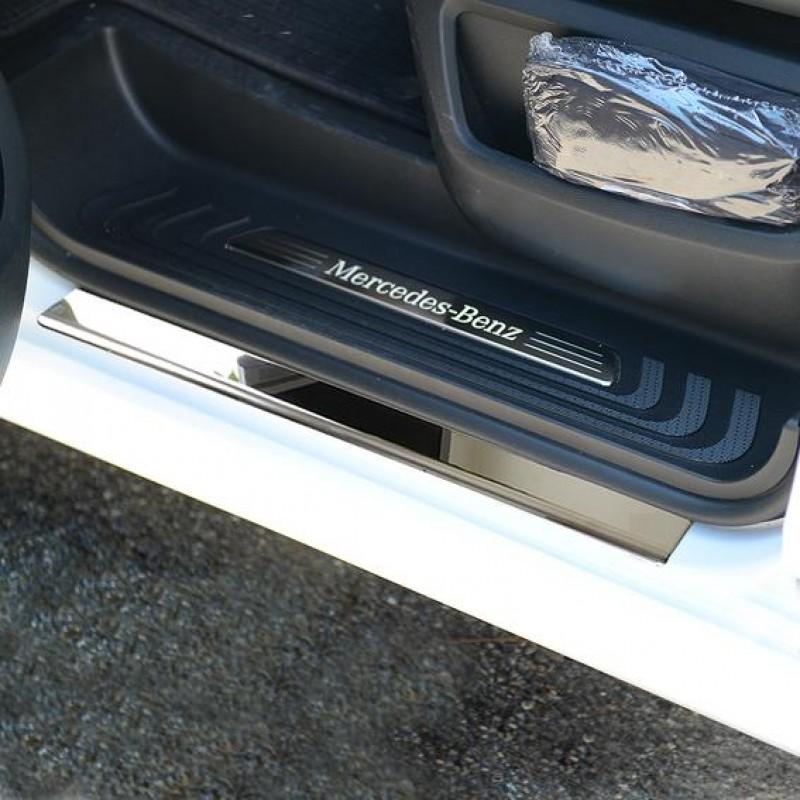 Εσωτερικά μαρσπιέ για Mercedes Benz Vito/V-Class W447 από 10/2014