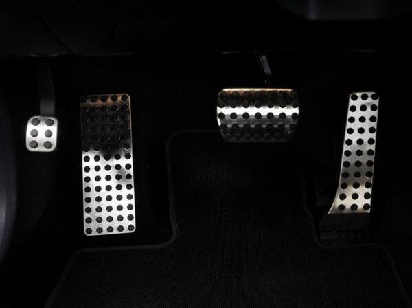 Διακοσμητικές πεταλιέρες Mercedes Benz για αυτόματο κιβώτιο 4 τεμ.