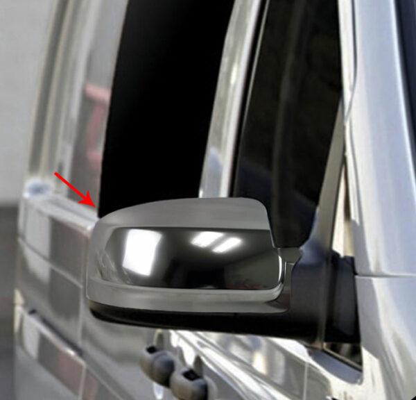 Καπάκια καθρεπτών Satin matt για Mercedes Benz Vito/Viano W639 2010-2014