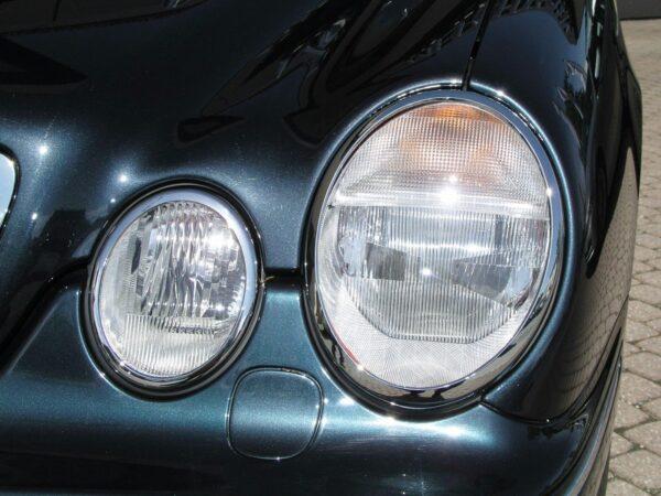 Χρώμια προβολέων για Mercedes Benz CLK W208
