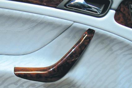 Door handle wood Burl for Mercedes CLK W208
