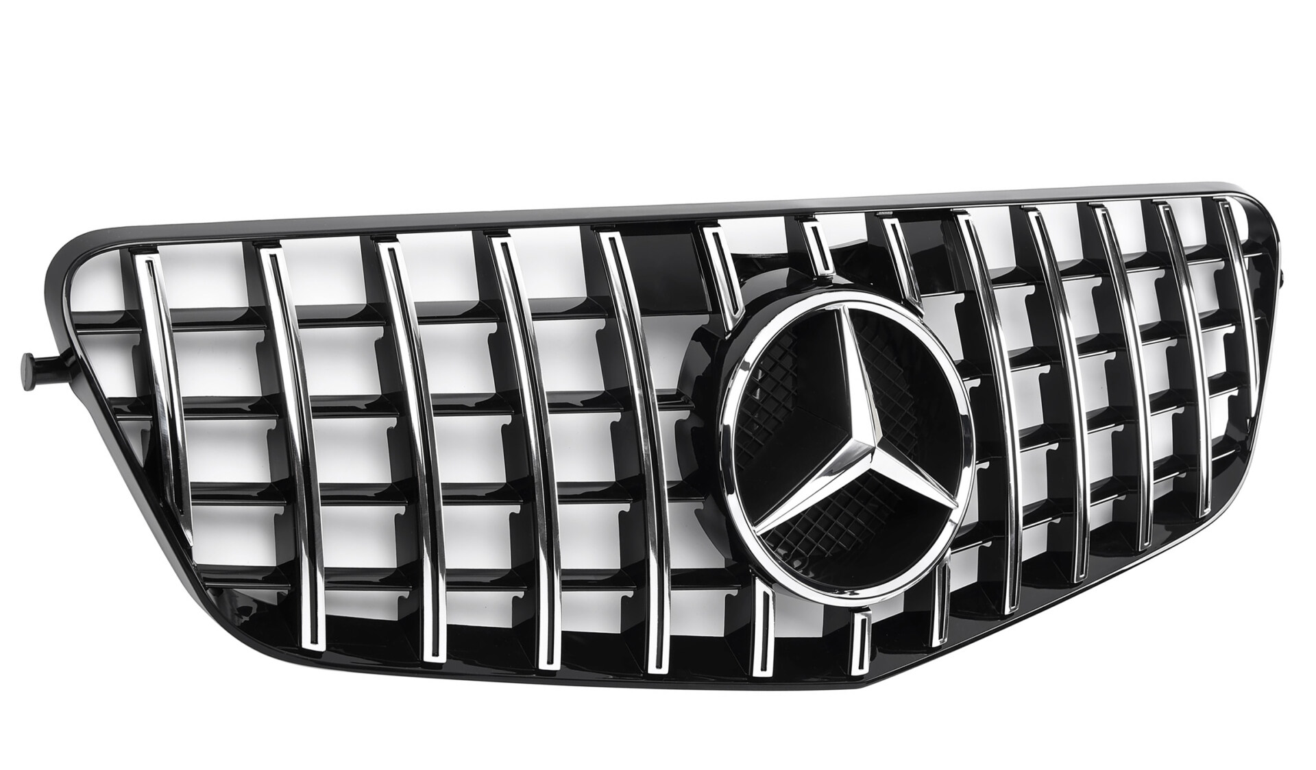 Grille sport Mercedes Benz W212 chrome panamericana look