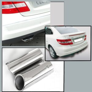Χρώμιο εξάτμισης για Mercedes Benz CLC CL 203 από 10/2000 έως 02/2011
